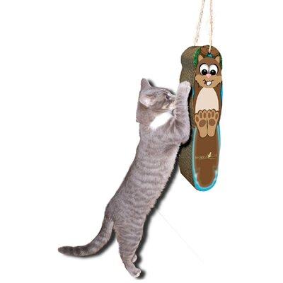 Scratch n Shapes Hanging Squirrel Cardboard Scratching Board