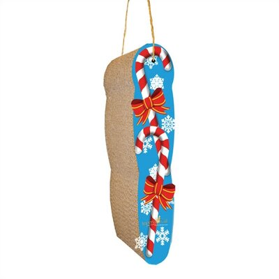 Scratch n Shapes Hanging Candy Cane Recycled Paper Scratching Board