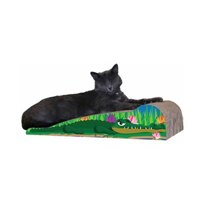 Scratch n Shapes Medium Crocodile Recycled Paper Scratching Board