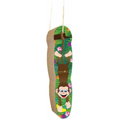 Scratch n Shapes Monkey Hanging Recycled Paper Scratching Board