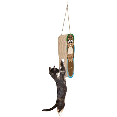 Scratch n Shapes Hanging Squirrel Cardboard Scratching Board