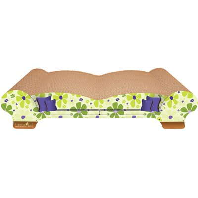 Scratch n Shapes Love Seat Recycled Paper Scratching Board Style: Retro C