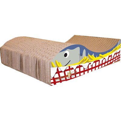 Scratch n Shapes Fish and Chips Recycled Paper Scratching Board