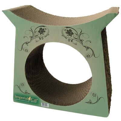 Scratch n Shapes Tower Tunnel Recycled Paper Cat Scratching Post Pattern: Modern A