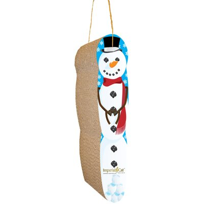 Scratch n Shapes Hanging Snowman Recycled Paper Scratching Board