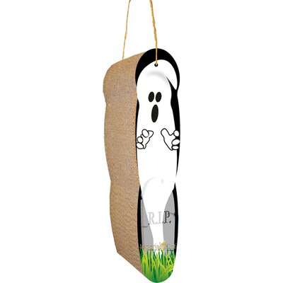 Scratch n Shapes Ghost Hanging Recycled Paper Scratching Board