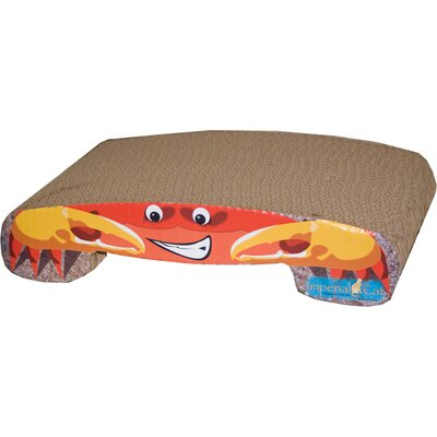 Scratch n Shapes Crab Recycled Paper Cat Scratching Board
