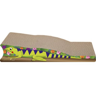 Scratch n Shapes Medium Iguana Recycled Paper Scratching Board