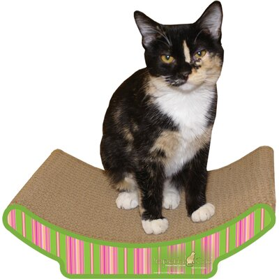 Scratch n Shapes Cozy Curl Recycled Paper Scratching Board Pattern: Stripe A