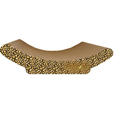 Scratch n Shapes Cozy Curl Recycled Paper Scratching Board Pattern: Jaguar