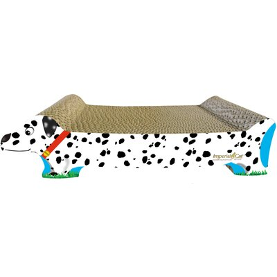 Scratch n Shapes Small Dog Recycled Paper Cat Scratching Board Pattern: Dalmation