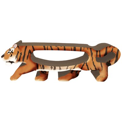 Scratch n Shapes 2 Piece Tiger Recycled paper Scratching Board