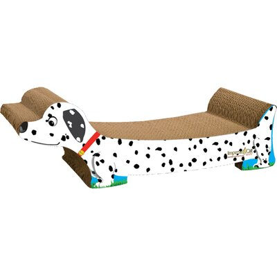 Scratch n Shapes Dalmatian Recycled paper Scratching Board