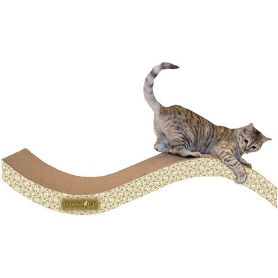 Scratch n Shapes Giant Purrfect Stretch Recycled Paper Scratching Board Color: Paisley