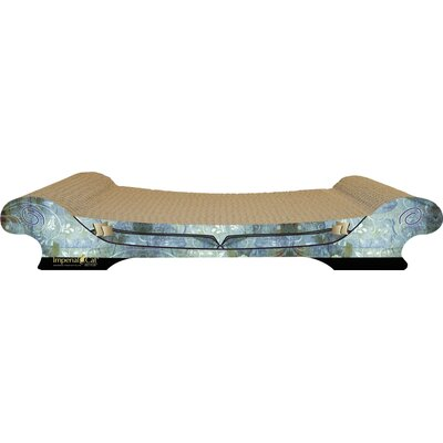 Scratch n Shapes Comfort Couch Recycled Paper Scratching Board Color: Antique Blue