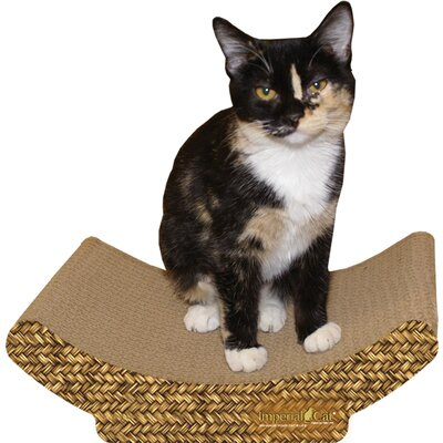 Scratch 'n Shapes Cozy Curl Recycled Paper Scratching Board