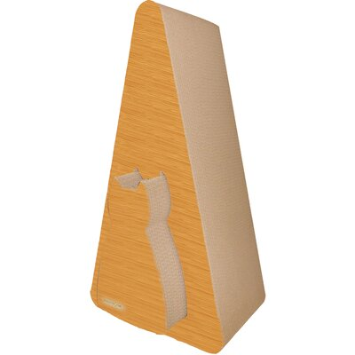 Scratch n Shapes Pyramid Recycled Paper Scratching Post