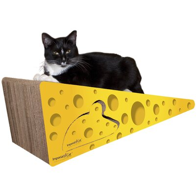 Scratch n Shapes Giant Cheese Recycled Paper Scratching Board