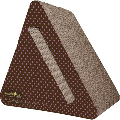 Scratch n Shapes Triangle Combo Recycled Paper Scratching Post