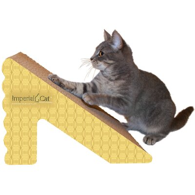 Scratch n Shapes Rub & Ramp Recycled Paper Scratching Post Color: Honeycomb