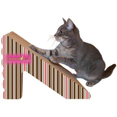 Scratch n Shapes Rub & Ramp Recycled Paper Scratching Post Color: Stripe D