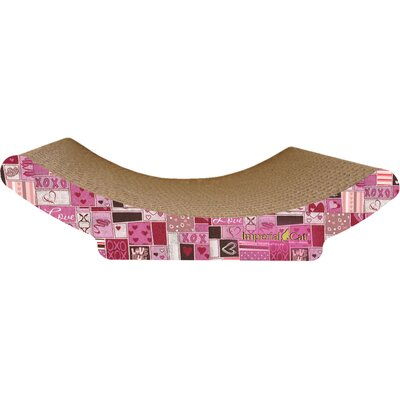 Scratch n Shapes Cozy Curl Recycled Paper Scratching Board Pattern: Valentine A
