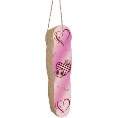 Scratch n Shapes Hanging Recycled Paper Scratching Board Pattern: Hearts