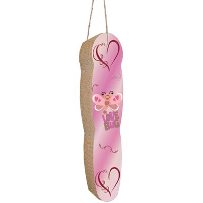 Scratch n Shapes Hanging Recycled Paper Scratching Board Pattern: Love Bug