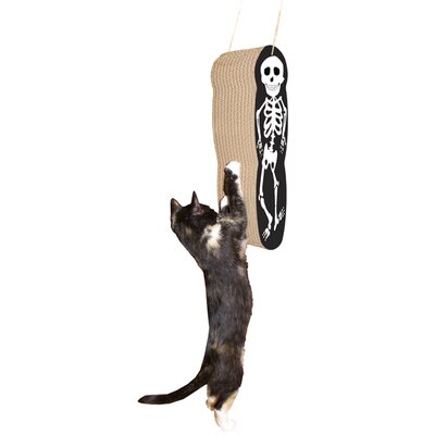 Scratch n Shapes Skeleton Hanging Recycled Paper Scratching Board