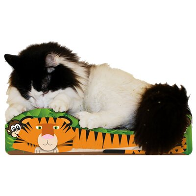 Scratch n Shapes Small Tiger Recycled Paper Scratching Board