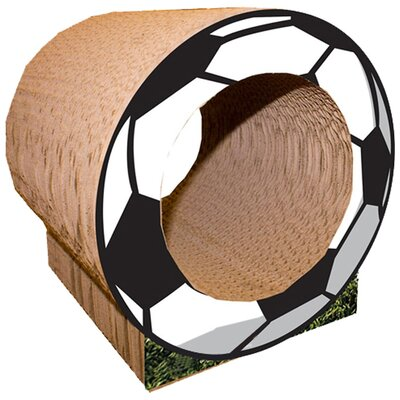 Scratch n Shapes 10 Small Soccer Ball Cat Perch