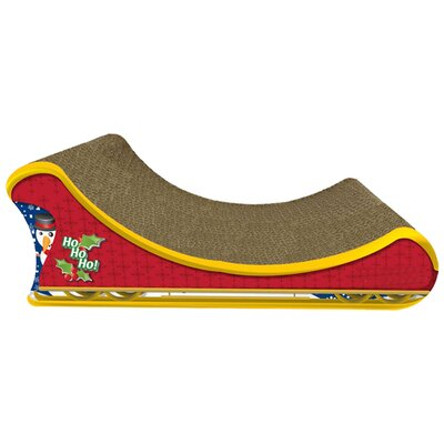 Scratch n Shapes Santas Sleigh Recycled Paper Scratching Board