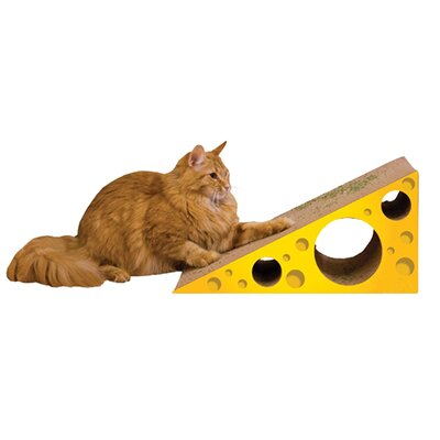 Scratch n Shapes Cheese Recycled Paper Scratching Board