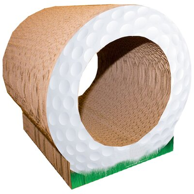 Scratch n Shapes Golf Ball Recycled Paper Scratching Board