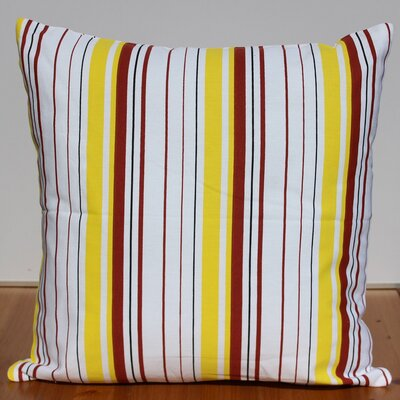 Printed Cotton Throw Pillow