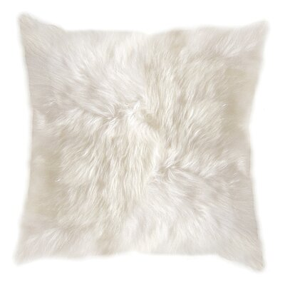 New Zealand Throw Pillow Color: Natural