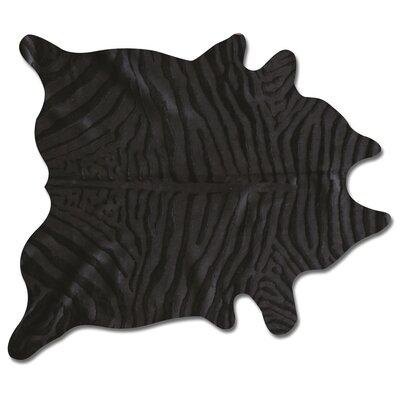 Togo Handmade Black Rug