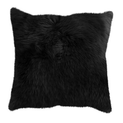 New Zealand Throw Pillow Color: Black