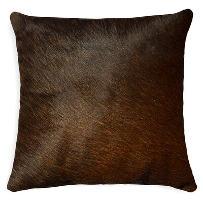 Natural Rugs Torino Cowhide Pillow - Color: Brown at Sears.com