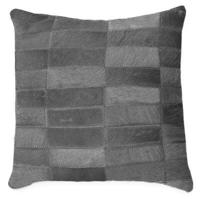 Torino Madrid Throw Pillow Color: Grey