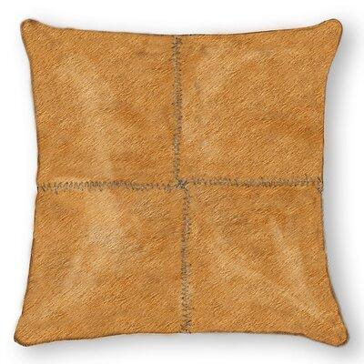 Graham Plain Throw Pillow Color: Tan