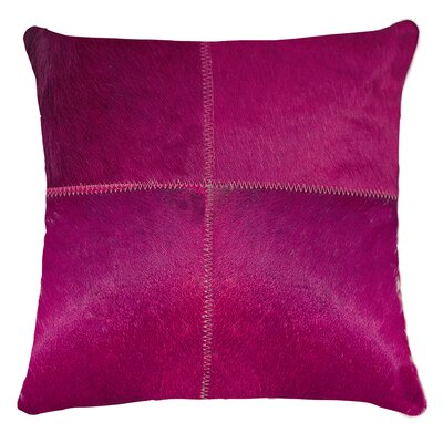 Graham Plain Throw Pillow Color: Fuchsia