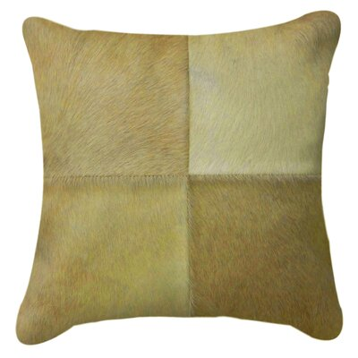 Graham Plain Throw Pillow Color: Natural