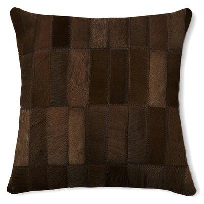 Torino Madrid Throw Pillow Color: Chocolate