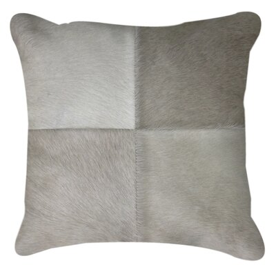 Graham Plain Throw Pillow Color: Grey