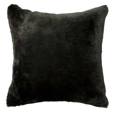 Nelson Throw Pillow Color: Black