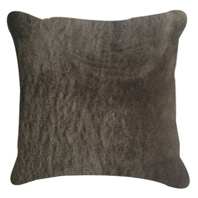 Nelson Throw Pillow Color: Chocolate