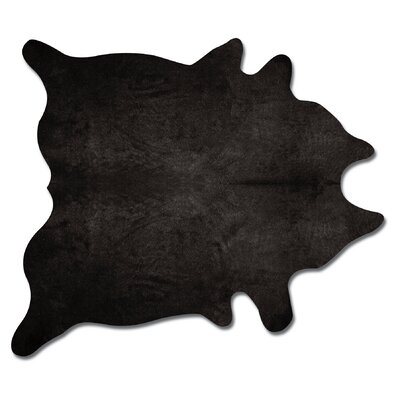 Geneva Handmade Black Area Rug
