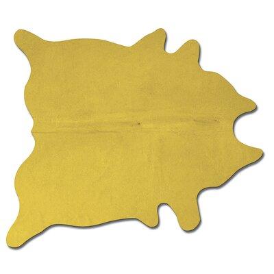 Geneva Handmade Yellow Area Rug