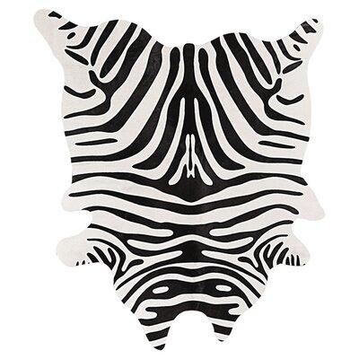 Grady Black/Off-White Zebra Rug